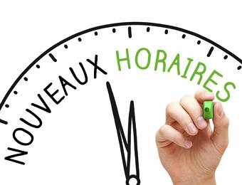 Changement d'horaires de l'accueil Mado Saint-Lô